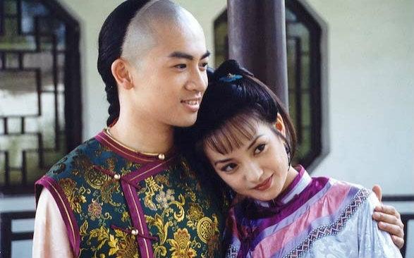 Wei Zhao and Alec Su in Huan zhu ge ge (1998)