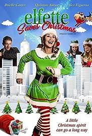 Elfette Saves Christmas Poster