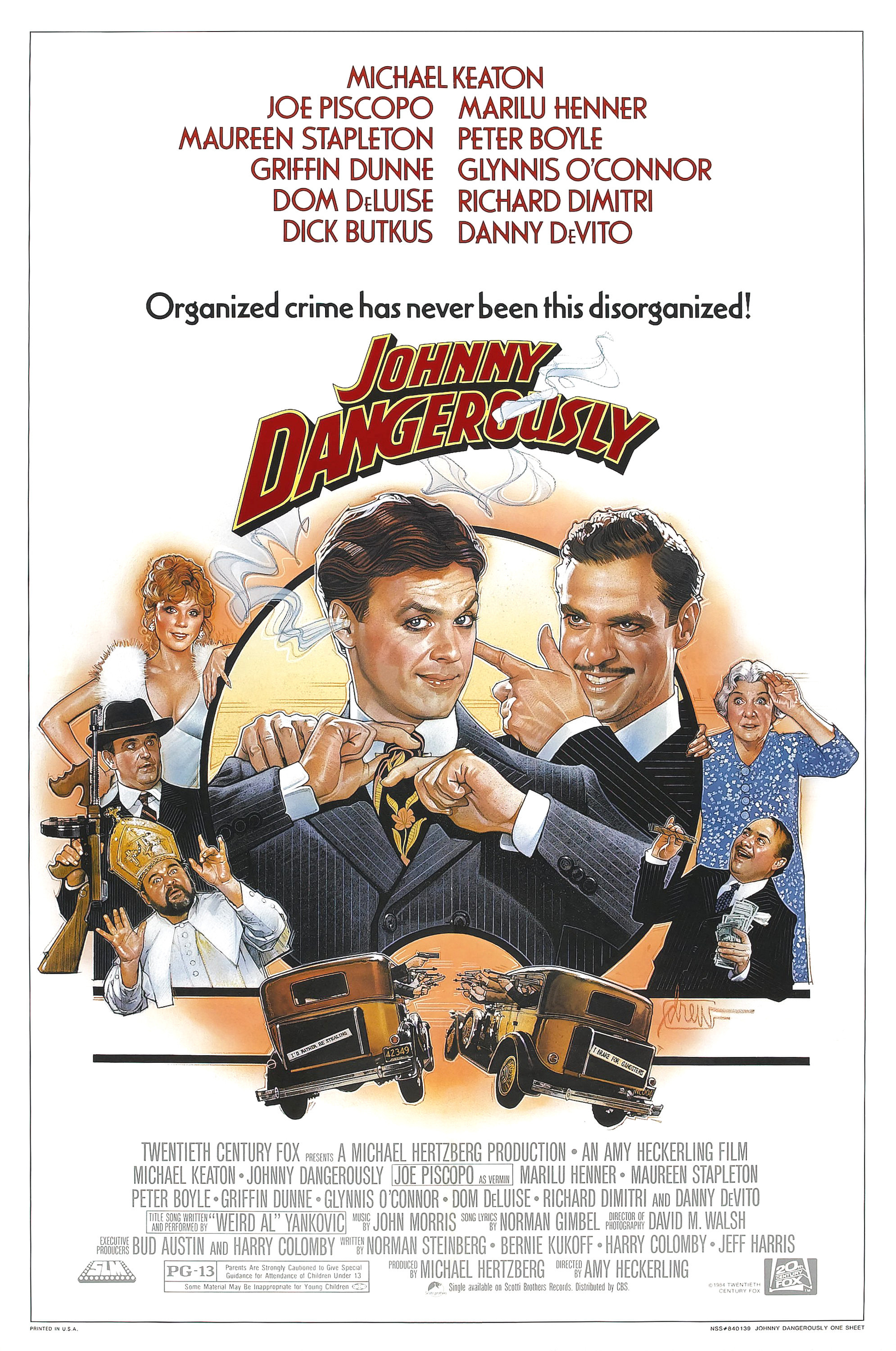 Johnny Dangerously Cast