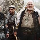 James Cosmo, Michael Nardone, and Michael Ballard in Merlin (2008)
