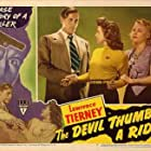 Marian Carr, Nan Leslie, and Lawrence Tierney in The Devil Thumbs a Ride (1947)