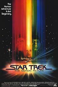 Leonard Nimoy, William Shatner, and Persis Khambatta in Star Trek: The Motion Picture (1979)