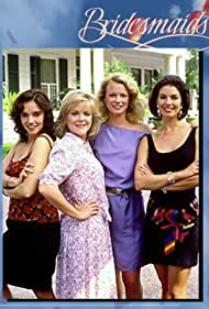 Sela Ward, Brooke Adams, Stephanie Faracy, and Shelley Hack in Bridesmaids (1989)