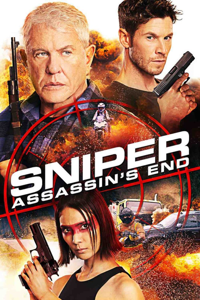 Sniper Assassins End (2020) English 720p HDRip ESub DL