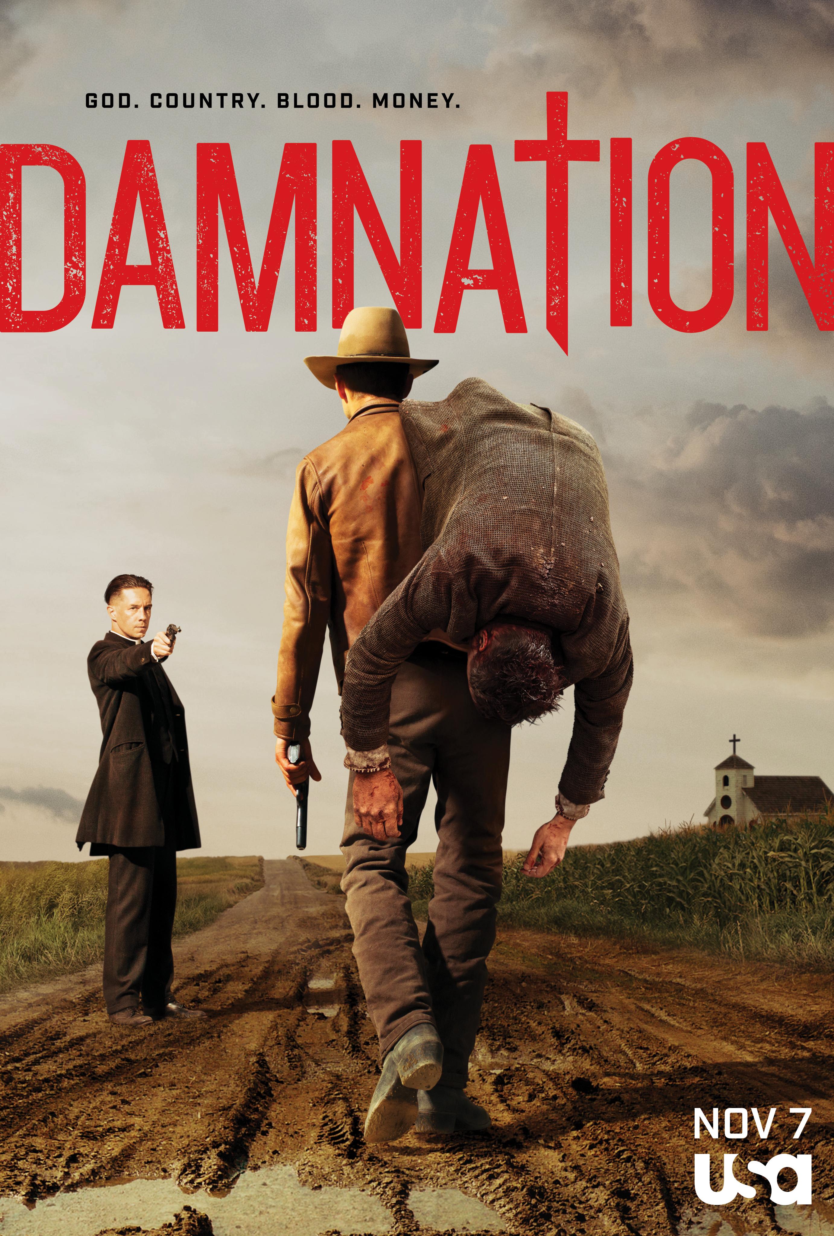 Damnation Season 1 COMPLETE 480p & 720p