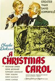 Terry Kilburn and Reginald Owen in A Christmas Carol (1938)
