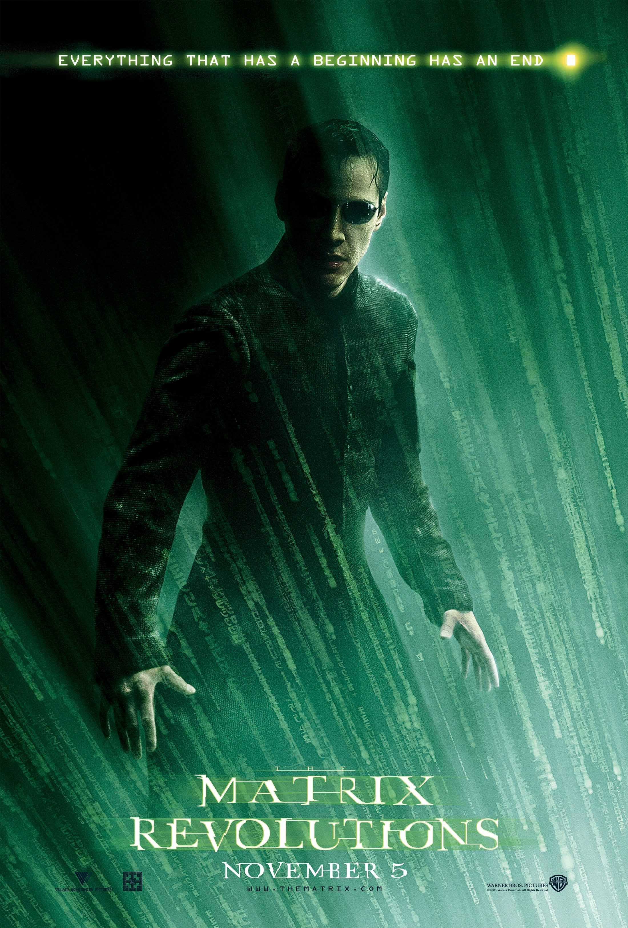 The Matrix Revolutions 2003 Imdb Neo Trinity My Amplifier