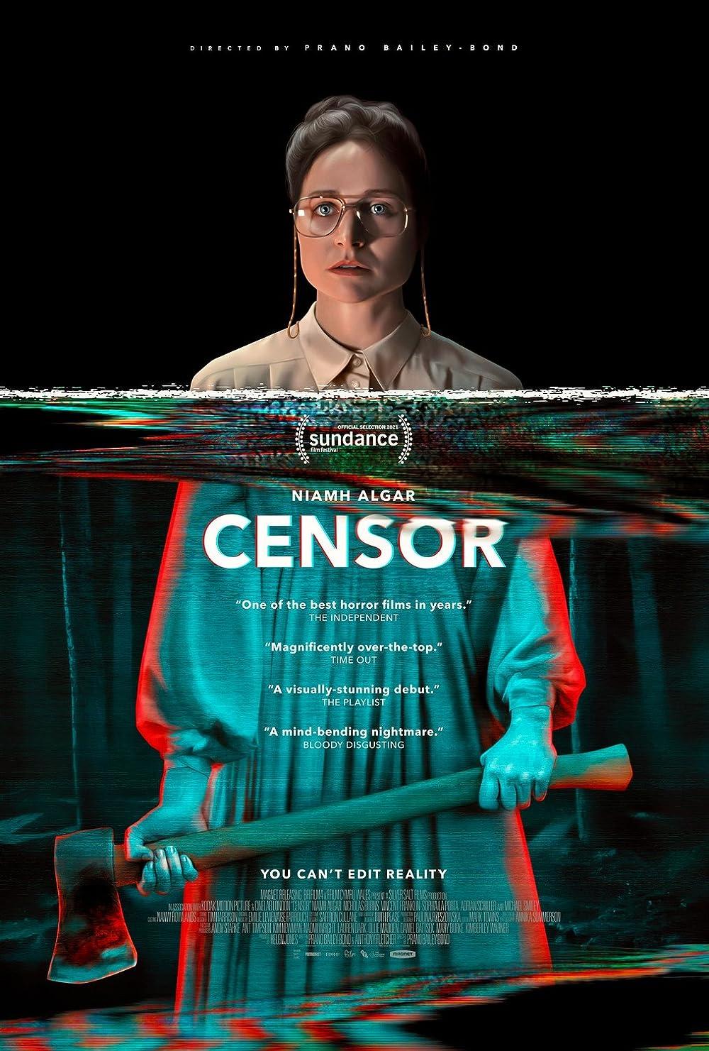 Censor 2021 English 720p HDRip 800MB Downoad