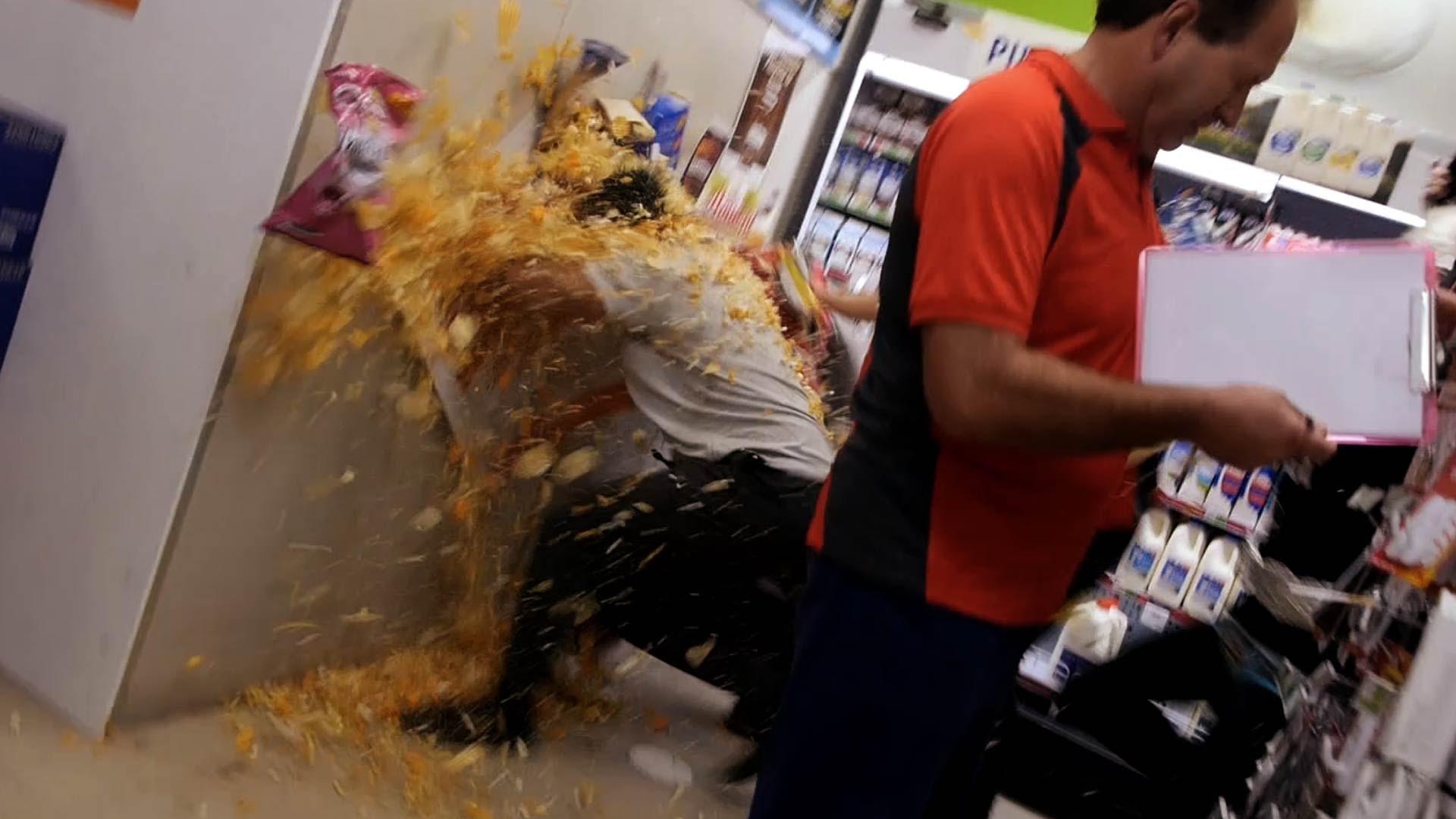 The Rackaracka Supermarket Food Fight Tv Episode 2015 Photo