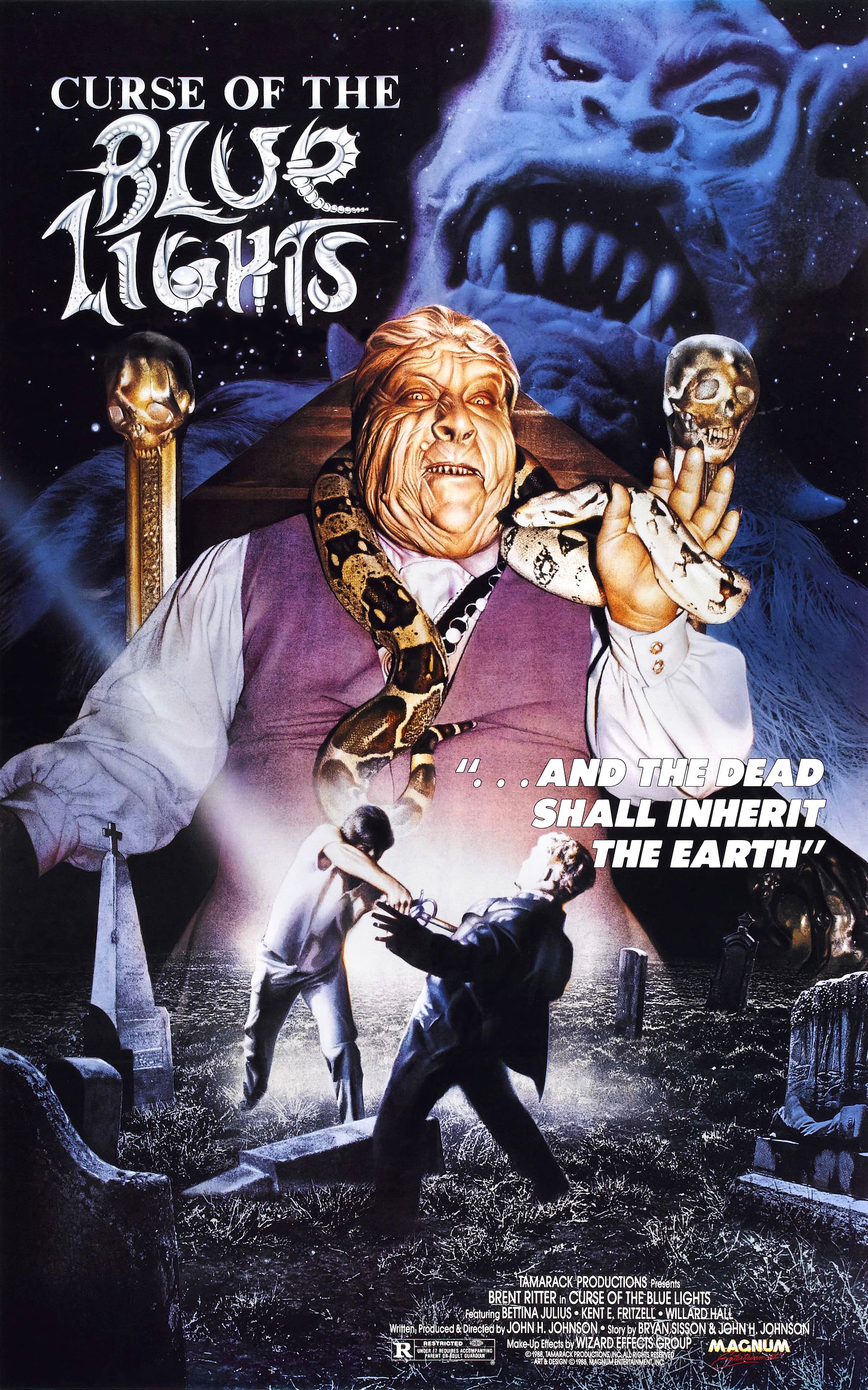 Curse Of The Blue Lights 1988 Imdb
