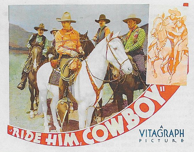 John Wayne, Bob Burns, Frank Fanning, Frank Hagney, and Duke in Ride Him, Cowboy (1932)