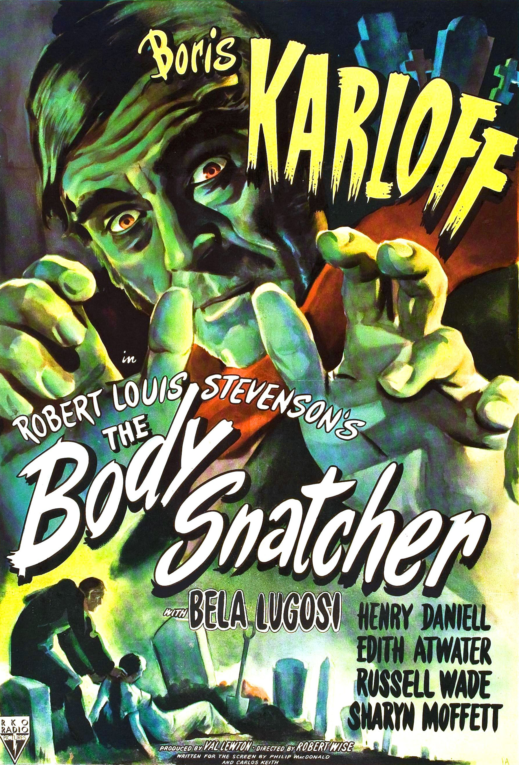 The Body Snatcher (1945) BluRay 720p & 1080p