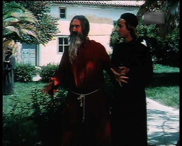 Giannis Vogiatzis and Makis Delaportas in Ethniki papadon (1984)