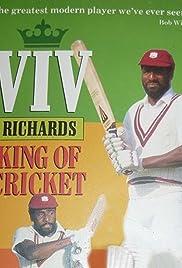 Viv Richards - King of Cricket Poster