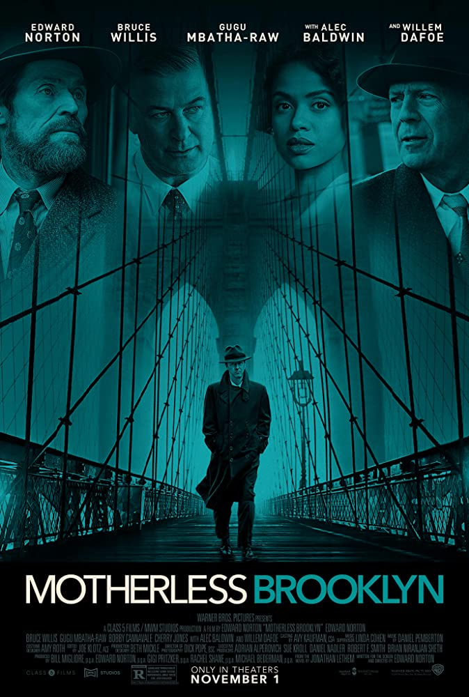 Motherless Brooklyn 2019 (Hindi Subbed) 720p HDCAM 900MB