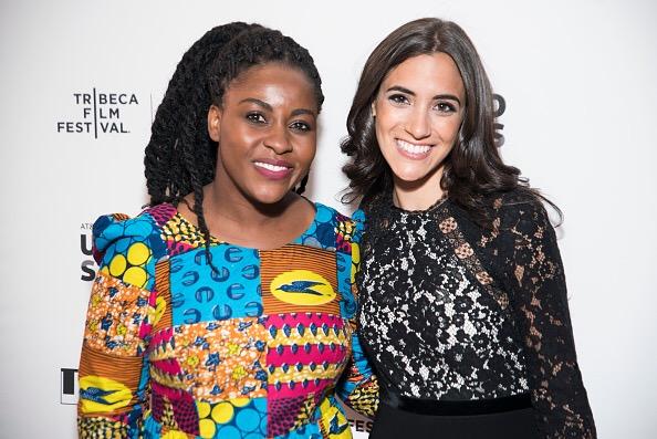 Lissette Feliciano and Priscilla Anany