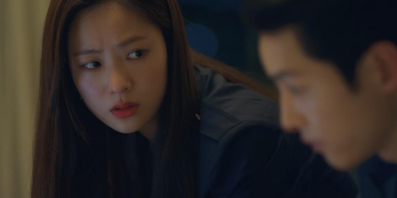 Song Joong-Ki and Yeo-bin Jeon in Vincenzo (2021)
