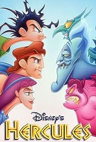 James Woods, Sandra Bernhard, Tate Donovan, Robert Costanzo, and French Stewart in Hercules (1998)