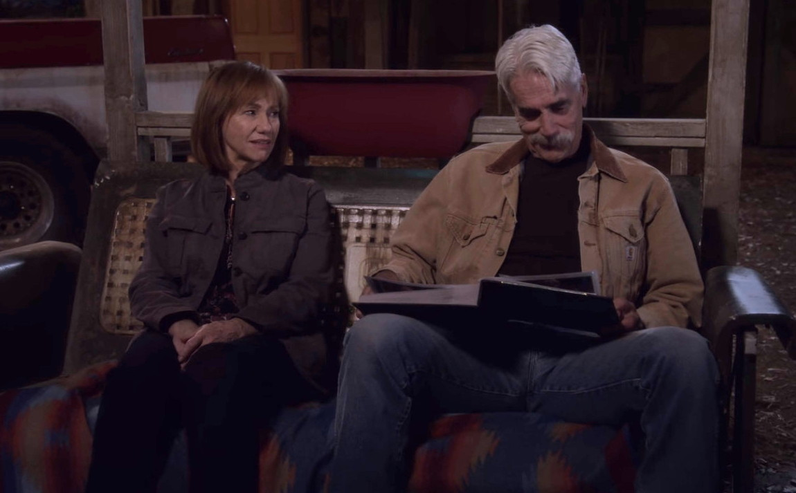 Sam Elliott and Kathy Baker in The Ranch (2016)