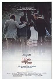 Table for Five (1983) Poster - Movie Forum, Cast, Reviews