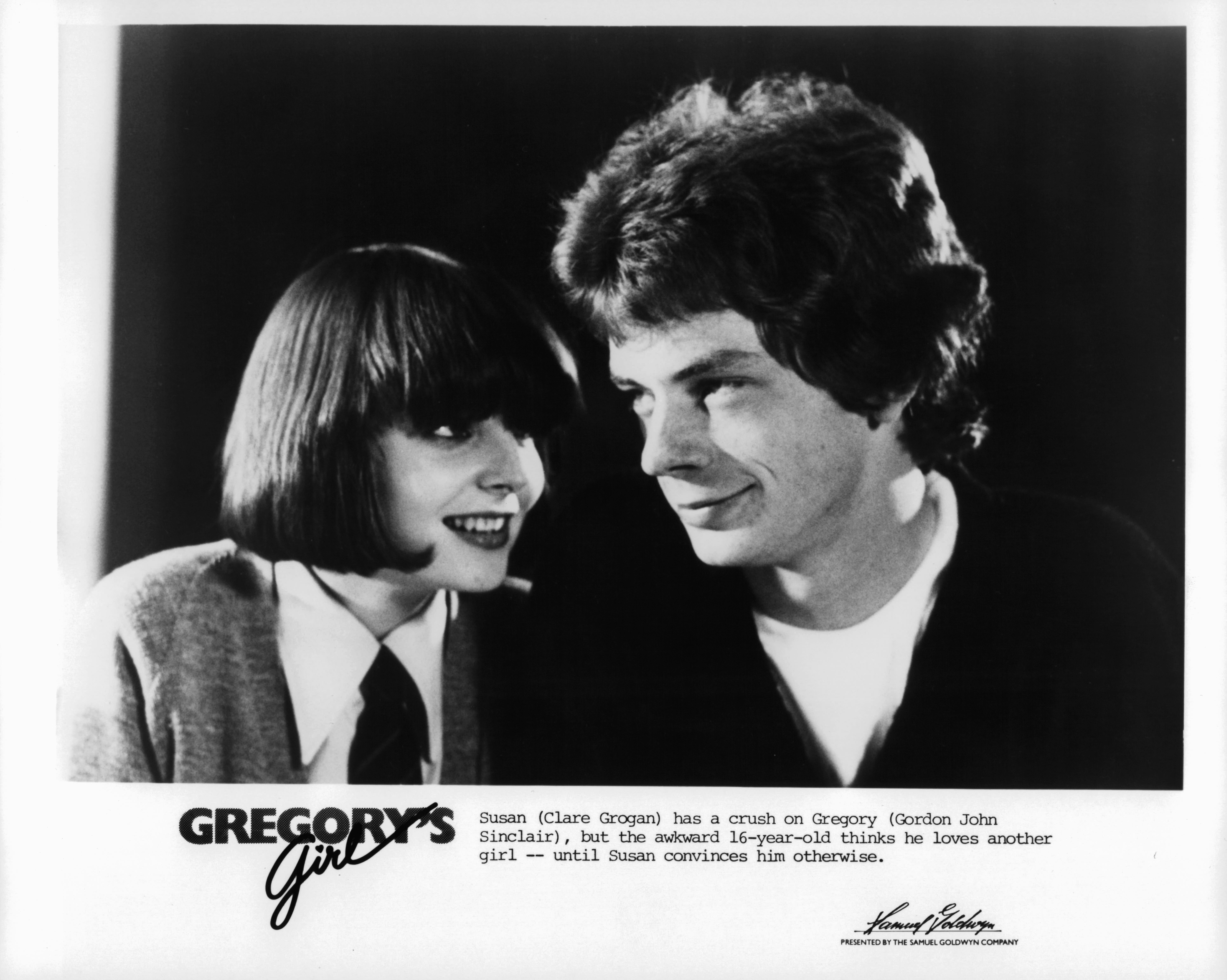 John Gordon Sinclair and Clare Grogan in Gregory's Girl (1980)