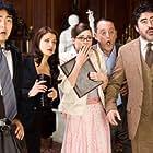 Alfred Molina, Jean Reno, Emily Mortimer, Aishwarya Rai Bachchan, and Yuki Matsuzaki in The Pink Panther 2 (2009)