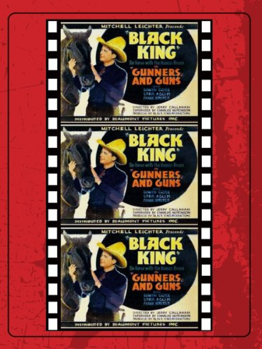 Edmund Cobb and Black King in Racketeer Round-up (1934)