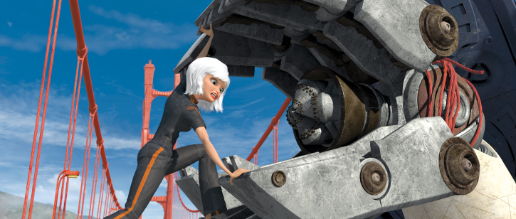 Reese Witherspoon in Monsters vs. Aliens (2009)