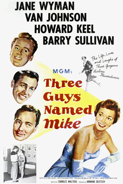 Three Guys Named Mike (1951)