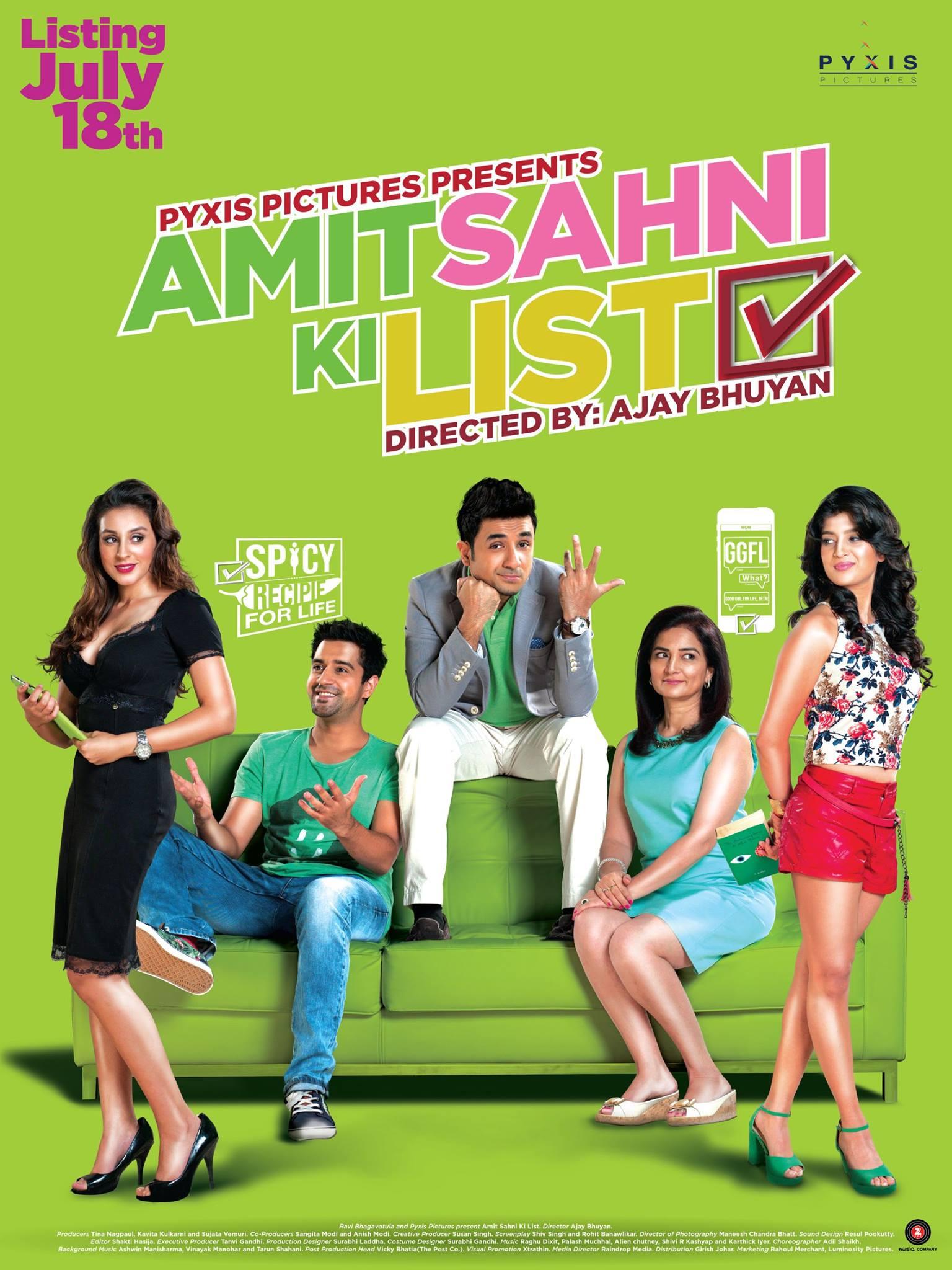 Natasha Rastogi, Vir Das, Ntasha Bhardwaj, and Anindita Nayar in Amit Sahni Ki List (2014)