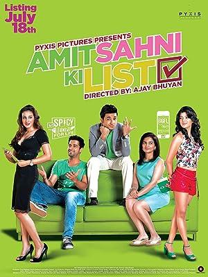 Amit Sahni Ki List movie, song and  lyrics