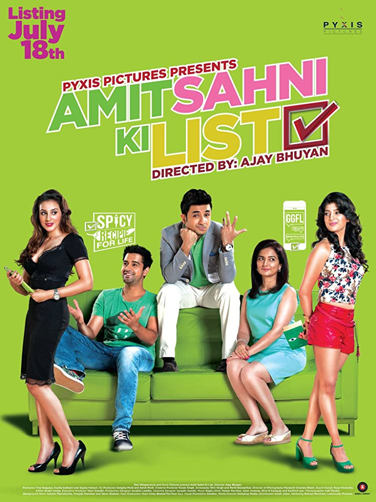 Amit Sahni Ki List (2014) Hindi
