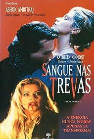 Kathleen Kinmont and Robert Knepper in Dead of Night (1996)