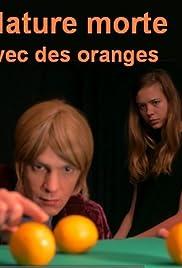 Nature morte avec des oranges Poster