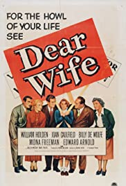 Dear Wife (1949) Poster - Movie Forum, Cast, Reviews