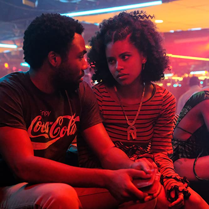 Donald Glover and Zazie Beetz in Atlanta (2016)