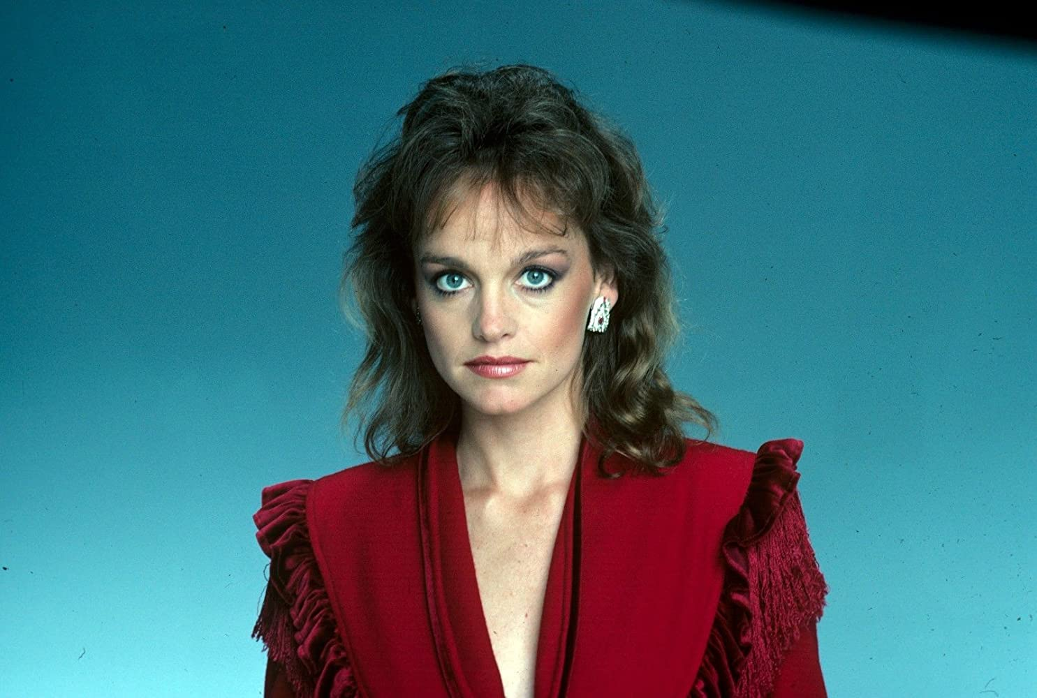 Pamela sue martin lady in red
