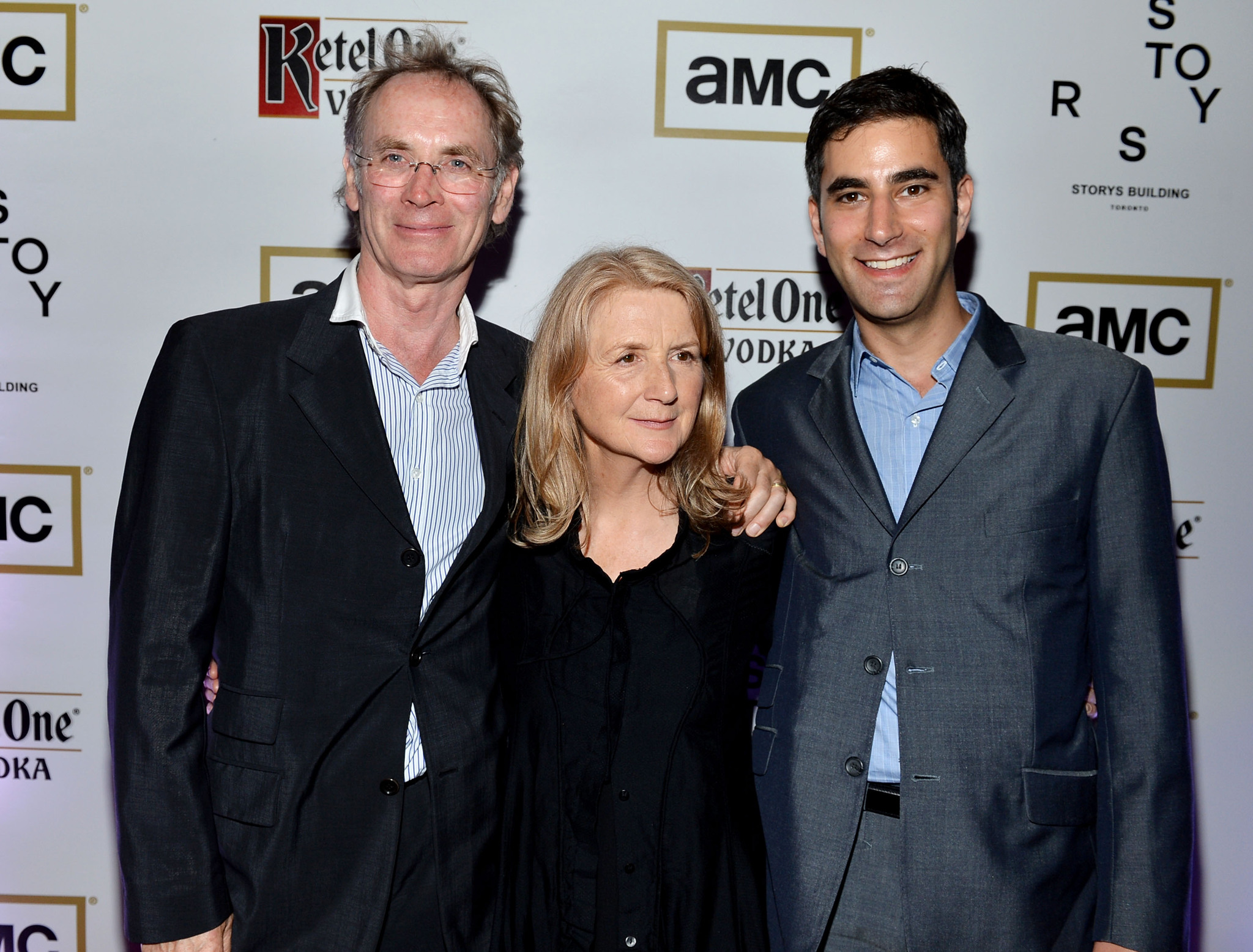 Sally Potter, Christopher Sheppard, and Andrew Litvin at an event for Ginger & Rosa (2012)