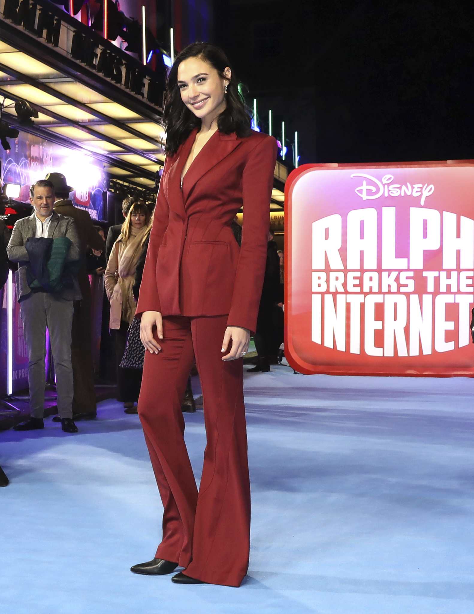 Gal Gadot at an event for Ralph Breaks the Internet (2018)