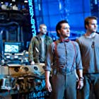Clifton Collins Jr., Max Martini, Idris Elba, and Robert Kazinsky in Pacific Rim (2013)