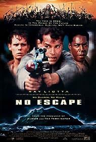 Ray Liotta, Kevin Dillon, Ernie Hudson, and Stuart Wilson in No Escape (1994)