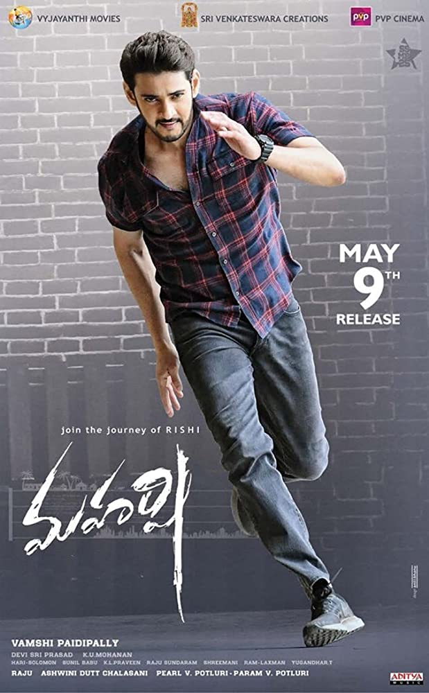 Maharshi 2019 Hindi Dubbed Movie 720p HDRip 950MB ESubs MKV