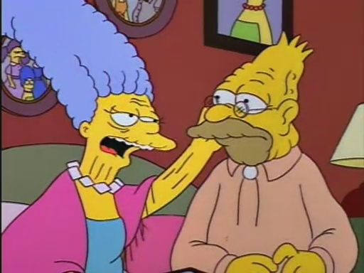 The Simpsons Lady Bouvier S Lover Tv Episode 1994 Imdb