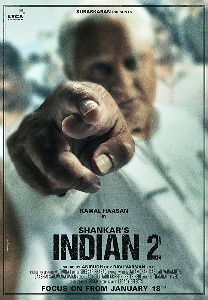 Indian 2 (2021) Hindi Tamil telugu 720p WEB-Dl