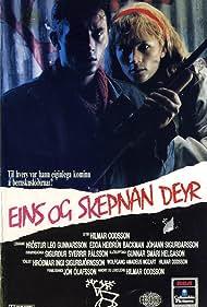 Edda Heidrún Backman and Þröstur Leó Gunnarsson in Eins og skepnan deyr (1986)