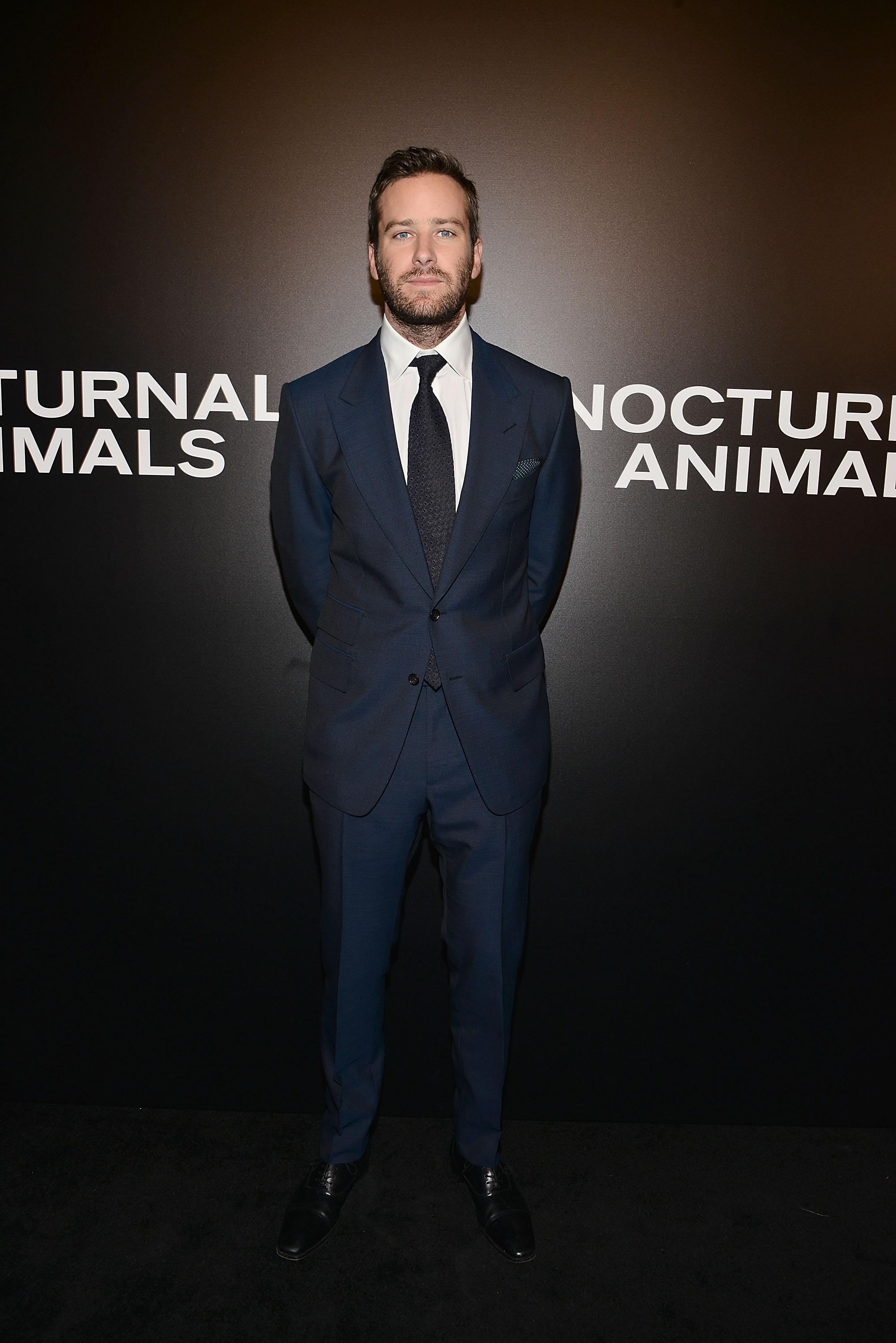 Armie Hammer at an event for Nocturnal Animals (2016)