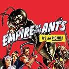 Joan Collins, John David Carson, Robert Lansing, and Pamela Susan Shoop in Empire of the Ants (1977)