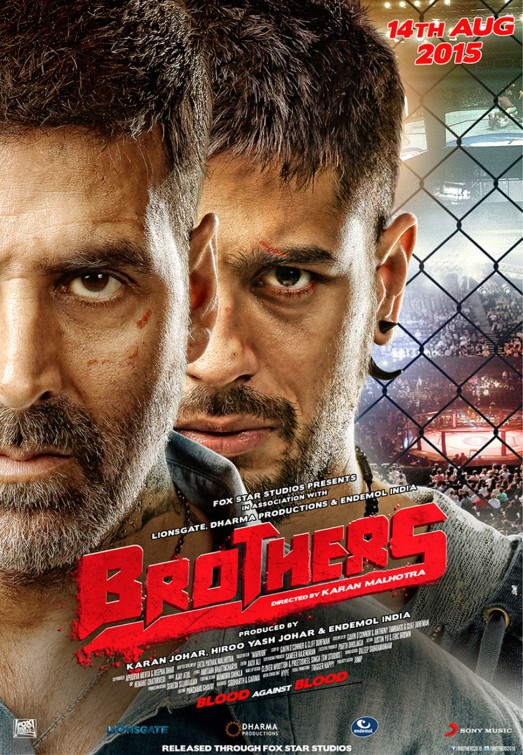 Brothers 2015 720p HEVC BluRay 550MB Full Hindi Movie Download