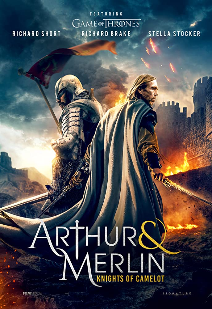 Arthur & Merlin: Knights of Camelot 2020 English 300MB HDRip 480p