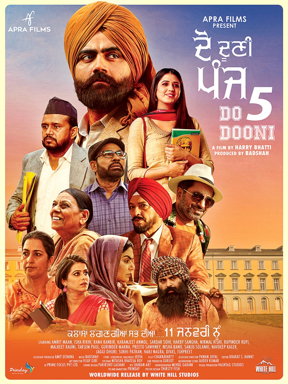 Do Dooni Panj 2019 Punjabi 720p HDTVRip 1.2GB Download